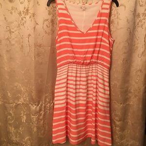 Gap Sleeveless Striped Dress